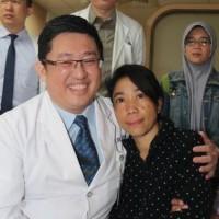 Taiwanese team of doctors saves Indonesian caretaker's life