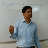 Indian man realizes dream of teaching Mandarin