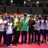 Taiwan's Huang Yu-jen beat Belgium's Jaouad Achab to bronze medal in World Taekwondo Grand Prix