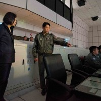 Taiwan President inspects Air Force HQ after repeated incursions of China's aircraft