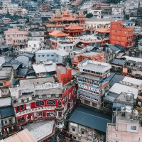 Photo of the Day: Aerial view of Jiufen on Christmas Day