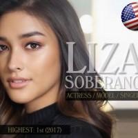 Filipino-American Liza Soberano ranks as most beautiful face of 2017