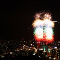 Xiangshan good for watching Taipei 101 fireworks display but not for light show: GEO