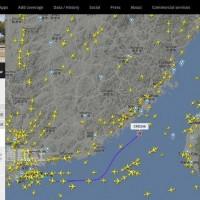 民航局要求航空業者勿飛新航路:不排除後續處置