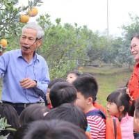斗六茂谷柑豐收質量均優 幼兒園小朋友採果學環保