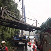 Japanese tourist injured in Taiwan bus accident