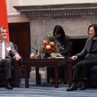 蔡英文盼加拿大支持台灣加入CPTPP