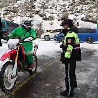 Taiwan postman travels 250 km to deliver mail in Hehuanshan even in snow