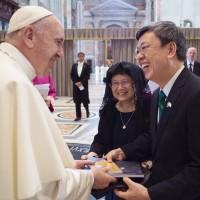 賀教宗獲選5週年 蔡英文期盼教宗訪問台灣