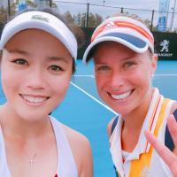 台灣網球女將詹詠然今年換搭檔 直落二首闖女雙決賽