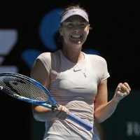 莎拉波娃走出禁賽風波 澳網拿下首勝