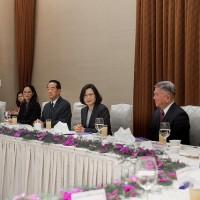 蔡英文宴請宋楚瑜等APEC代表團