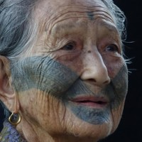 One of last Atayal women left with facial tattoo dies at age 103