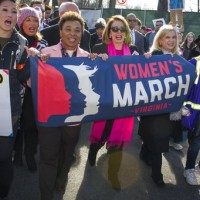 Women in the US march again with aim to become a political force