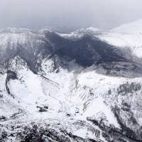 日本草津發生火山爆發氣象廳籲小心雪崩