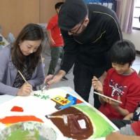 當鍾肇政文學遇見馬蒂斯藝術:孩童創作魯冰花藝術裝置