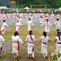 Members of Taiwan's indigenous Bunun ethnic group visit ancestral lands