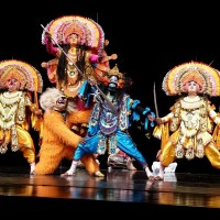 Traditional Indian Chhau dance performance comes to Taiwan's Nat. Palace Museum
