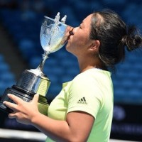 Young Taiwanese athlete wins big at Australian Open