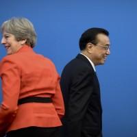 英首相訪中:梅伊避正式表態支持一帶一路