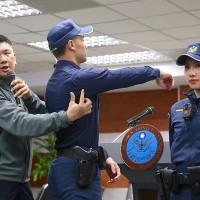 Taiwanese police to change into navy-bluenew uniform