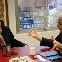 Association for Int'l Broadcasting CEO visits Taiwan, meets Taiwan News publisher
