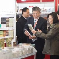 蔡英文首度出席台北國際書展 總統書單看這裡