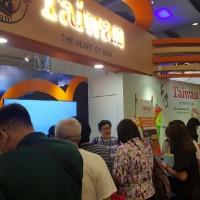 菲律賓旅遊展買氣旺 觀光局台灣館吸引數千人