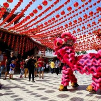 Here's how Chinese welcomed the Year of the Dog around the world