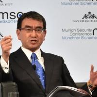 日本外相訪韓 籲各國重視北韓綁架日人問題