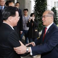 外交部長交接 李大維:吳釗燮接任是「無縫接軌」
