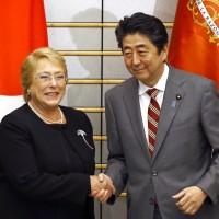 川普想回歸TPP 智利總統:不會被牽著鼻子走