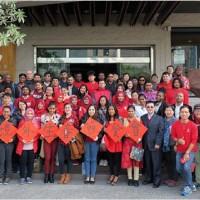 尼泊爾26學生獲獎學金赴台念書 登報感謝我政府