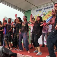 Indian Holifestival brings splash of colors to Taipei