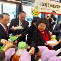 陳菊赴日出席東京食品展 行銷蜜棗與高雄觀光