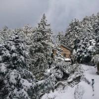 More snow falls on Taiwan's Yushan