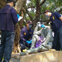 Former Taipei City Councilor given 5 months in jail for beheading statue ofJapanese engineer