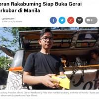 印尼總統長子賣煎蛋餅 不靠爸有骨氣深受讚揚