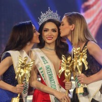 Vietnamese crowned queen of international transgender beauty pageant in Thailand