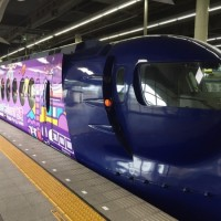 Osaka train decked out to celebrate anniversary of Taiwan's airport MRT