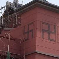 Buddhist temple in Taiwan's Penghu accidentally installs 'Nazi' swastika