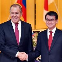 日俄外長會談 希望在四島問題上加強合作