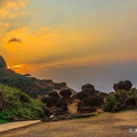 Photo of the Day: Sunset at Taiwan's Yehliu Geopark