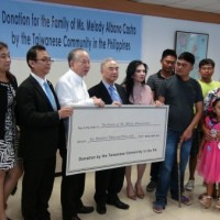 Taiwan businesses donate PHP600,000 to family of Filipina caregiver killed in Hualien quake