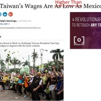 Taiwan files complaint with Forbes over misleading wage comparison to Mexico