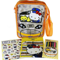 Taiwan Railways unveils new backpacks ahead of Children's Day