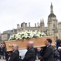 英國劍橋舉行葬禮 告別霍金