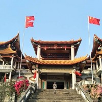 Buddhist temple inTaiwan defaced, turned into Chinese Communist Party shrine