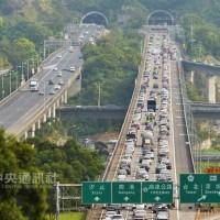 清明節國道行車時間 5路段估平日3至6倍