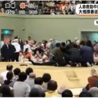 日本舞鶴市長相撲場昏倒 女性上前CPR竟遭廣播「請下去」